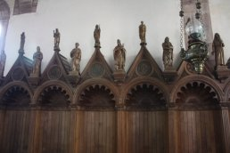 The church stalls
