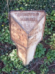Wilton (Bridstow Parish) mile marker