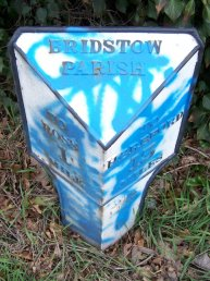 Bridstow Parish mile marker