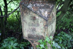 Ledbury Mile Marker left