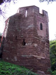 The north west tower in Wilton Castle (9-9-06)