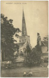 Newent Church, Glos