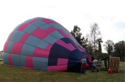 Air balloon inflation
