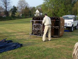 Air balloon unloaded