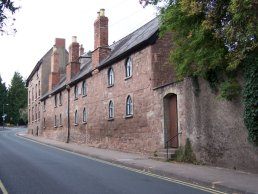 Webb`s Almshouses Ross-on-Wye