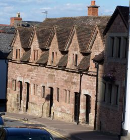 Rudhall Almshouses Ross-on-Wye