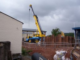 A crane at Fiveways (18-06-08)