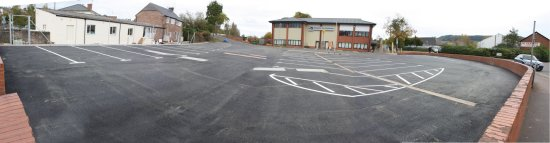 The reinstated Kings Acre car park (19-10-08)