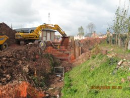 The end of the old culvert (28-04-08)