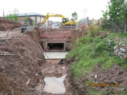 The old culvert has been replaced (09-05-08)