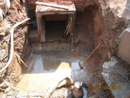 The new culvert (13-05-08)