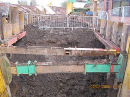 The Fiveways to Broadmeadows culvert (04-02-08)