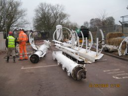 Parts of the tunnelling equipment (07-02-08)