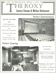 The Roxy Luxury Cinema & Molino Restaurant