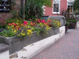 Stone trough at Five Ways
