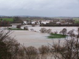 The Oak Meadow in flood (11-01-07)