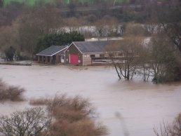 The boathouse in the flood (11-01-07)