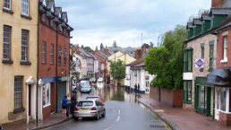 Brookend Street in flood (23-8-06)