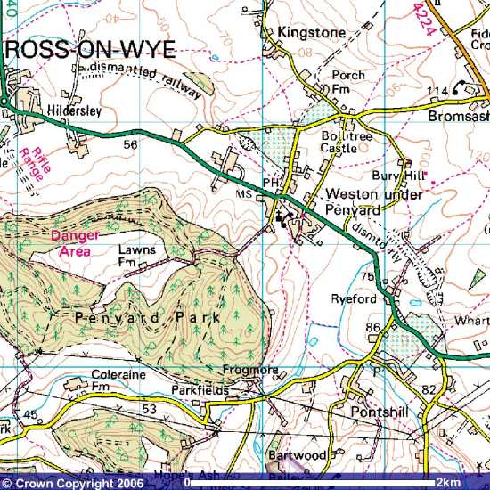 Ross to Gloucester Line