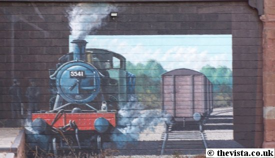 Ross-on-Wye Goods Shed mural