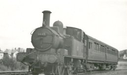 Collett 14xx class 0-4-2T engine number 1445