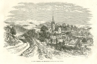 A Woodcut of Ross on Wye