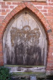 John Kyrle`s studed door