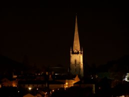Ross-on-Wye by night
