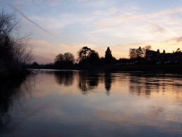 The River Wye in the evening (22-3-06)