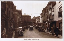 View up Broad Street, Ross-on-Wye