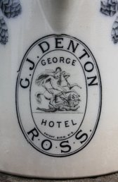 The George Hotel crest