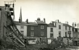 The George Hotel site after demolition