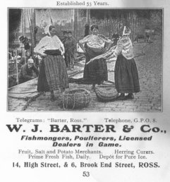 W. J. Barter & Co advert