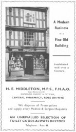 Middleton advert 1949