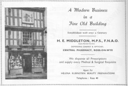Middleton advert 1952