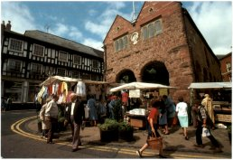 Market Day, Ross-on-Wye c.1990
