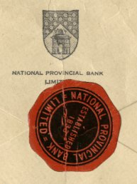 National Provincial Bank Seal
