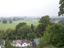 A view of the river from Ross-on-Wye
