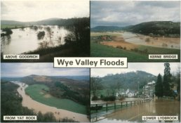 The Wye in flood