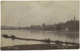 The Wye in flood 1912