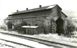 Ross Engine Shed seen from the north side