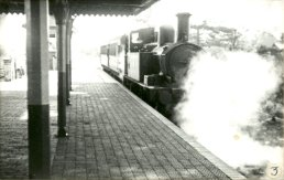 A train in Ross Station