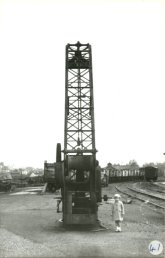 The crane in the goods yard