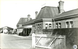 Ross Station and goods shed