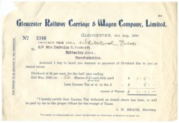 Gloucester Railway Carriage & Wagon Company, Limited
