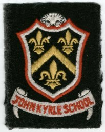 John Kyrle High School badge (9-3-06)