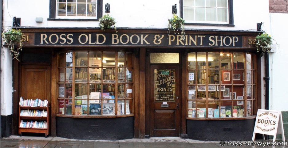 Ross old books frontage 08 02 09