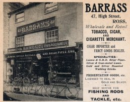 Barrass Tobacconists, Hairdressers and Bicycle Sales