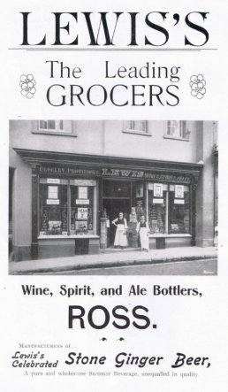 Lewis Grocery, Provisioners, Wines, Spirits and Ales