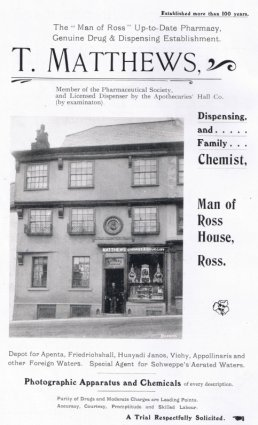 T. Matthews Dispensing and Family Chemists